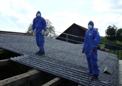 Rückbau Asbest