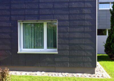 Bild Fassadenbau Naturschiefer