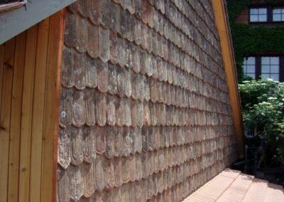 Bild Fassadenbau Ziegel