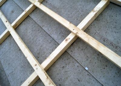 Steildach Unterdach Konstruktion
